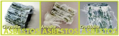 soorten asbest
