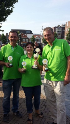 team Hollenberg wint boules toernooi