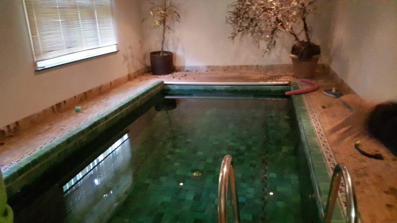 sloop zwembad