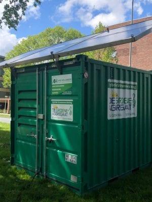 saneren op zonne-energie
