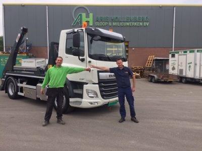 nieuwe vrachtwagen
